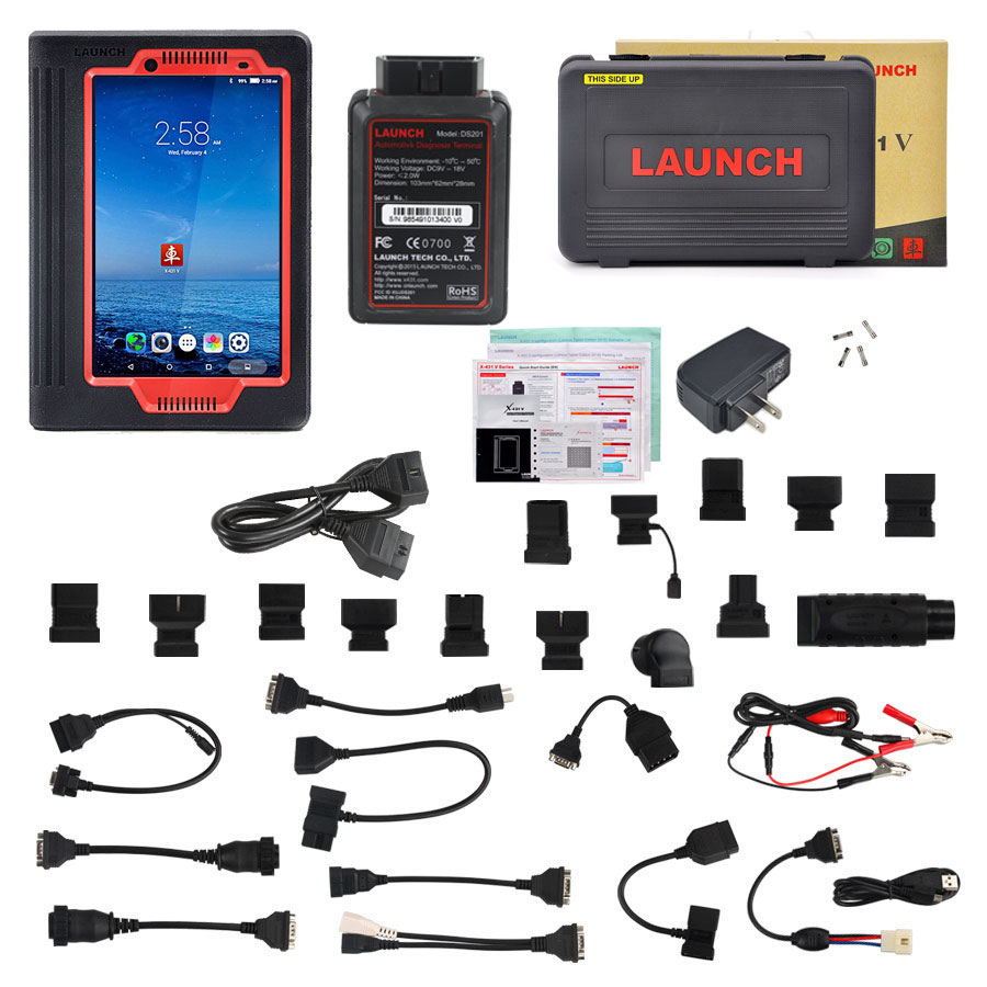 launch x431 v diagnostic scanner full kit