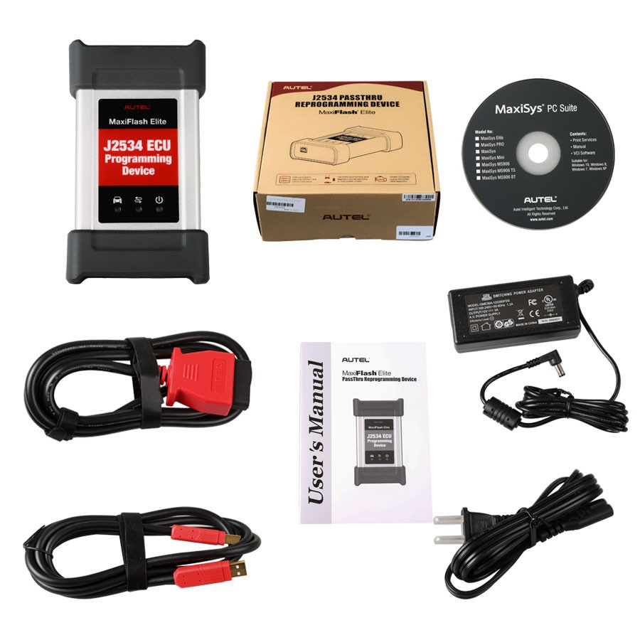 Autel Maxiflash Pro ecu programming kit