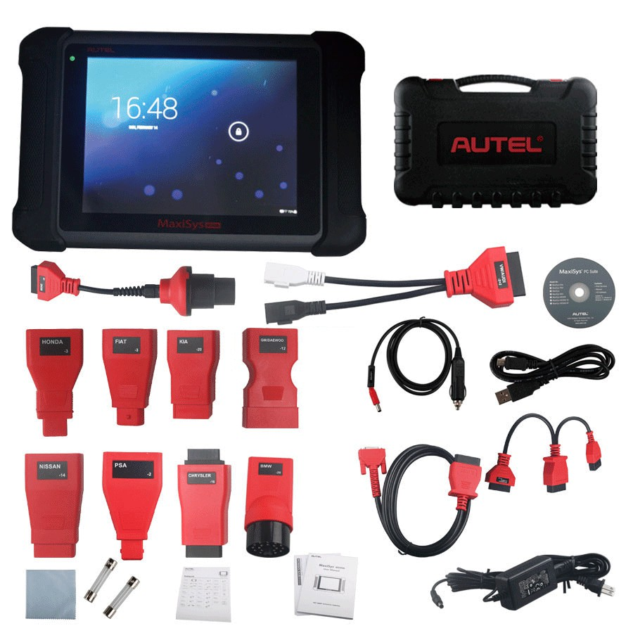 original autel maxisys ms906 full systems diagnostic