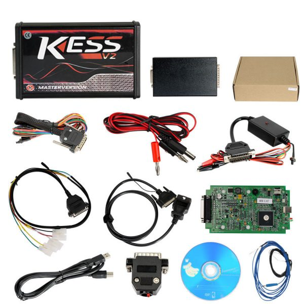 Kess V2 Master with full adapters