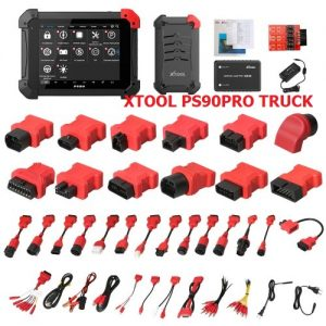 XTOOL PS90 PRO support 12V and 24V Truck scan
