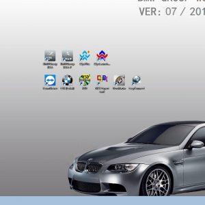 lastest bmw icom software hard disk