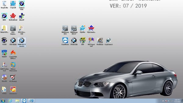lastest bmw icom software hard disk