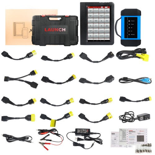 x431 v+ heavy duty diagnostic full kit