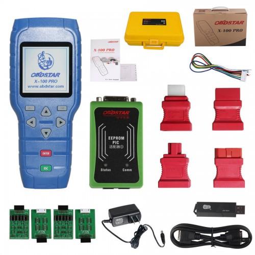 obdstar x100 pro fulll adapters kit