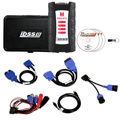 Isuzu IDSS Diagnostic Tool full Kit