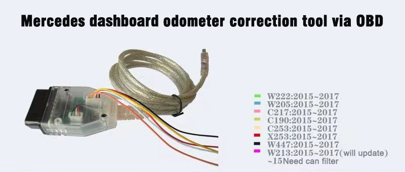 mercedes benz OBD2 Odometer Correction Tool