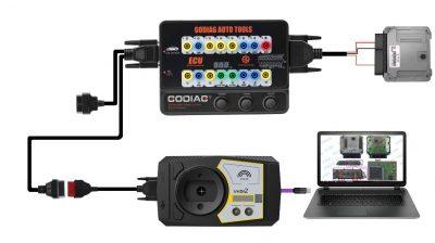 Godiag GT100 connect ECU directly