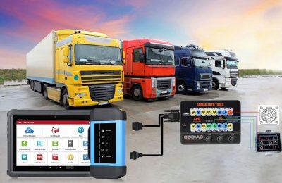 GODIAG GT100 convert truck obd port to OBDII diagnostic port