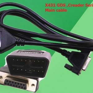 X-431 GDS and Launch Creader OBD2 Cable
