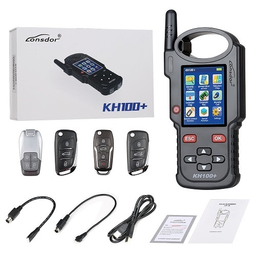 Lonsdor KH100+ Remote Programmer is one great smart remote key tool with Wi-Fi update free
