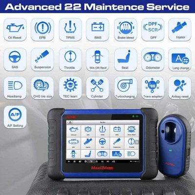 maxiim im508 key programmer with powerfully service resetting functions