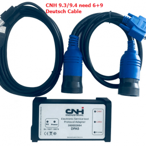 CNH EST DPA5 whilte interface